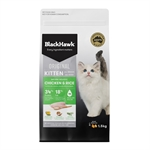 Black Hawk Kitten Chicken 1.5kg-cat-The Pet Centre