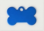 Personalised IMARC Bone Tag Small Blue-dog-The Pet Centre