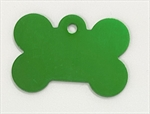 Personalised IMARC Bone Tag Small Green-collars-|-leads-|-harnesses-The Pet Centre