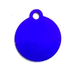 Personalised IMARC Circle Tag Small Purple-dog-The Pet Centre