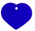 Personalised IMARC Heart Tag Large Purple-dog-The Pet Centre