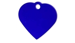 Personalised IMARC Heart Tag Small Purple-dog-The Pet Centre