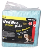 Pet One Wee Wee Training Pads 100pk-dog-The Pet Centre