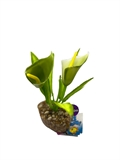 Silk Plant - Funnel Leaf Assorted-artificial-plants-The Pet Centre