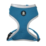 Huskimo Easyfit Harness - Bells Beach M-harnesses-The Pet Centre