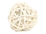 Wicker Ball with Bell-toys-|-chews-The Pet Centre