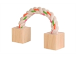 Wooden Playing Rope 20cm-toys-|-chews-The Pet Centre