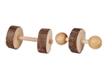 Natural Living Dumbells 2pk-toys-|-chews-The Pet Centre