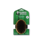 Bamboo Groom Palm Brush-brushes-and-combs-The Pet Centre