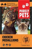 Purely Pets Chicken Medallions 1kg-frozen-food-The Pet Centre