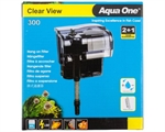 Aqua One H300 Clear View Hang On Filter-fish-The Pet Centre