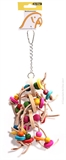 Avi One Block Chain & Bell Toy 28cm-bird-The Pet Centre