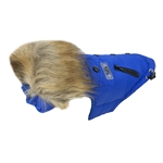 Huskimo Everest Coat Royal Blue 46cm-dog-The Pet Centre