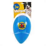 JW Mega Egg Blue Medium-dog-The Pet Centre