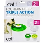 Catit 2.0 Fountain Filter 2pk-cat-The Pet Centre