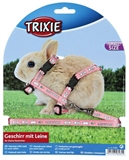 Trixie Adjustable Baby Rabbit Harness with Lead-harnesses-The Pet Centre