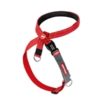 EzyDog Cross Check Harness M - Red-harnesses-The Pet Centre