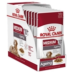 Royal Canin Medium Ageing 10+ Gravy-dog-The Pet Centre