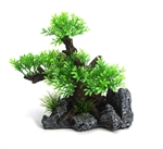 AquaWorld Large Tree On Rock 19.5x13.5x19.5cm-ornaments-The Pet Centre