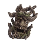 AquaWorld Tree Face Leaning 17.5x11x18cm-ornaments-The Pet Centre