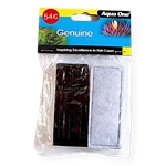 Aqua One Cartridge Carbon - H100 ClearView (2pk)-fish-The Pet Centre