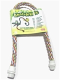 Living World Knot A Rope Perch 66mm x 16mm-rope-The Pet Centre