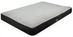 Its Bed Time Luxury Memory Foam Mattress - Medium Grey-dog-The Pet Centre