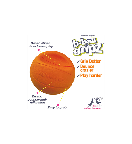 Nylabone Basketball Gripz - Medium