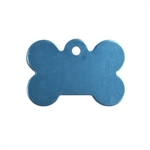 Personalised iMarc Tag Bone Small Turquoise-dog-The Pet Centre