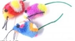 "Multi Colour Mouse 2""-cat-The Pet Centre"