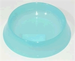 Petz Cat Bowl Ocean Blue Translucent-bowls-The Pet Centre