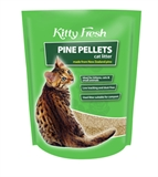 Kitty Fresh Pine Pellet Litter 10lt - 7kg-litter-The Pet Centre