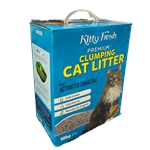 Kitty Fresh Activated Charcoal Clumping Litter 10kg-cat-The Pet Centre
