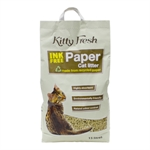 Kitty Fresh Ink Free Paper Litter 15lt-cat-The Pet Centre