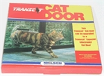 Transcat Clear Perspex Cat Door-cat-doors-The Pet Centre